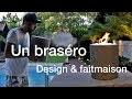Un Braséro design fait maison pour 40 euros ? Rejoins moi sur Snap:atmossvert