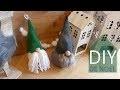 DIY Lutins scandinaves ou Gnomes suedois pour une déco nordique en francais !