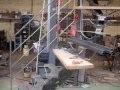 ww.ferronnerie-dargoat.com : comment fabriquer un escalier métal mixte a limon central débillardé