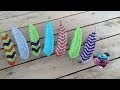 Plumes Crochet façon tunisien /Plumas tejidas a crochet