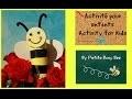 DIY Kids* Enfants: fabriquer une petite abeille * create a little bee