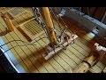 Bateau jouet 42 Bateau pirate  3ème partie Le gréement