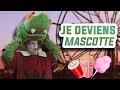 JE DEVIENS MASCOTTE DE PARC D'ATTRACTION