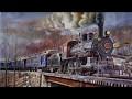 De l'eau a la vapeur ,Denis Beaudet peintre québecois