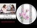 Peinture sur Porcelaine - Comment utiliser les stickers MFPorcelaine