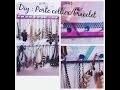 DIY : Fabriquer à moins de 2 euros son porte collier ou bracelet