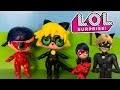 Poupée LOL Surprise Chat Noir Miraculous Ladybug DIY Custom LOL Surprise Doll Tutorial