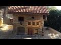 Nichoir en pierre - Jura - stone birdhouse - maison miniature - miniature stone house - bansai