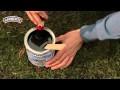 Comment peindre une grille de jardin rouillée ?