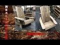 Adirondack en bois de recuperation #2