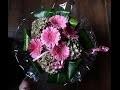 Emballer un bouquet rond