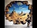 11 peintures murales 3D, incroyable !