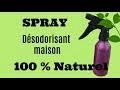 Spray désodorisant 100% NATUREL - DIY facile et pas cher - DIY Parfum maison