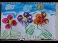 Bricolage enfant- activité peinture avec des pommes de terre