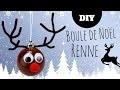 DIY Noël - Fabriquer un renne avec une boule en plastique