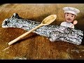 Sculpter une cuillère (carving a spoon)