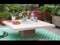 Fabriquer une table basse en bois et béton