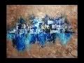 Peinture Abstraite au Couteau - Acrylique Facile