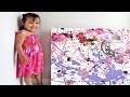 L'art abstrait d'une enfant de 3 ans