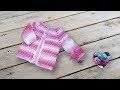 """Brassière veste crochet unisexe """"Lidia Crochet Tricot"""""""