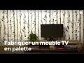 Fabriquer un meuble TV en palette | Recycler