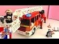 playmobil pompier francais – Construction et démo du camion de pompier