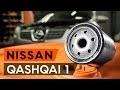 Comment remplacer filtre à huile et huile moteur une NISSAN QASHQAI 1 (J10) [TUTORIEL AUTODOC]