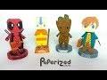 Figurines en papier : Deadpool, Avatar, Baby Groot, Newt Scamander   Papercraft DIY
