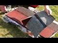 Bricolage: comment poser l'Easy Shingles (bardeaux) sur votre toit (abri de jardin) ?