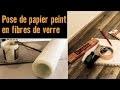 Pose de papier peint en fibres de verre - Atelier brico HORNBACH