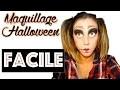 Maquillage halloween 2015 - Poupée maléfique facile