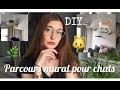 DIY PARCOURS MURAL SIMPLE POUR LES CHATS + HAUL VEGAN