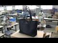 Fabrication sac cabas Clément