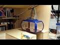 Prototype d'un téléphérique miniature de jardin - Episode 01