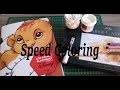 Speed coloring  Les grands classique tome 4