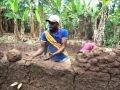 CONSTRUCTION DE MAISON EN TERRE AU BENIN