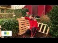 Composteur en palette, faire son compost - Pallets composter, make your own compost video