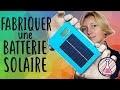Fabriquer une batterie externe solaire