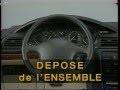 Peugeot 406 - Interventions planche de bord