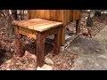 L'gosseux d'bois Ep 144 - Petite table en cèdre pour le chalet