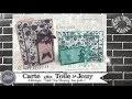 """Vidéo-Tuto """"Carte effet Toile de Jouy"""" par Coul'Heure Papier"""