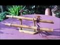 fabriquer une flute amerindienne 5 trous en bambou  et ses mesures