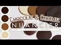 [TUTO NUANCIER] Couleurs Chocolat & Caramel - Pâte Polymère