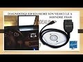 """Scanner/Reprogrammer une voiture simplement (""""valise"""" cable OBD2)"""