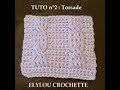 TUTO cours 40 : Point torsade au crochet /  crochet tutorial: easy twist stitch