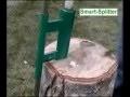 Smart Splitter   L'outil sûr et fiable pour fendre les bûches