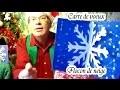Flocon de neige : Bricolage d'une carte dee Noël et Nouvel An