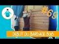 Départ du bardage bois et grilles anti-rongeur - LPMDP #69