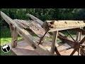 Restauration d'une vieille Brouette en bois