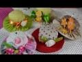 CHAPEAUX DIY Miniatures & Fraises PIQ Epingles ☆ COUTURE FACILE Tutoriel ☆ LOISIRS CREATIFS